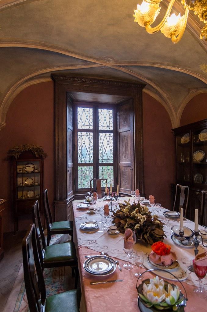 La sala da pranzo | www.castellodipadernello.it ...