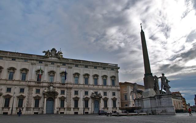 Roma. Piazza del Quirinale