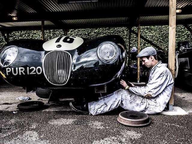 2013 Goodwood Revival: Jaguar C-type