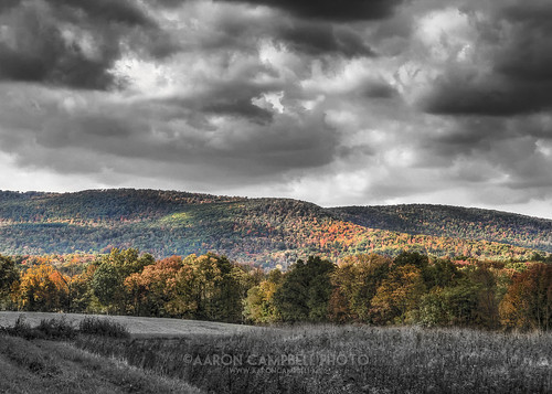 autumn bw sunlight fall clouds wednesday october colorful moody shadows pennsylvania dramatic 2nd foliage shade hdr atmospheric nepa selectivecolor edr luzernecounty 2013 loyalville loyalvilleroad sorbermountain