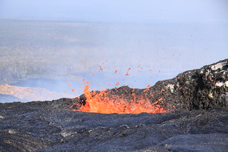 Spattering at Kilauea | by U.S. Geological Survey
