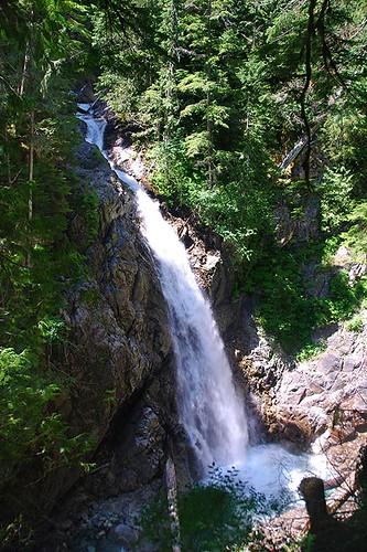 Upper Myra Falls, Strathcona Provincial Park, Central Vancouver Island, British Columbia, Canada