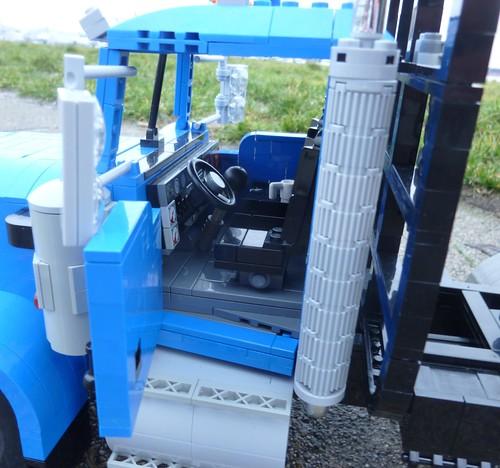Lego Kenworth Logging Truck | Lego Kenworth T800 High Hood ...