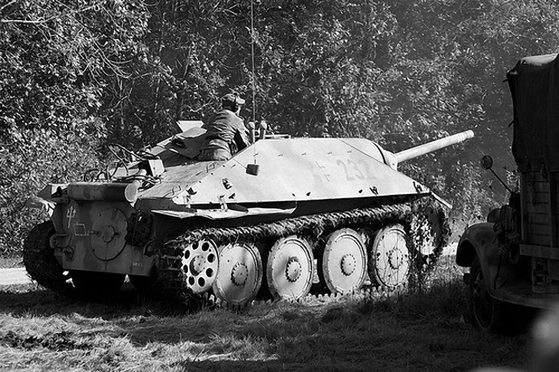Hetzer tank destroyer