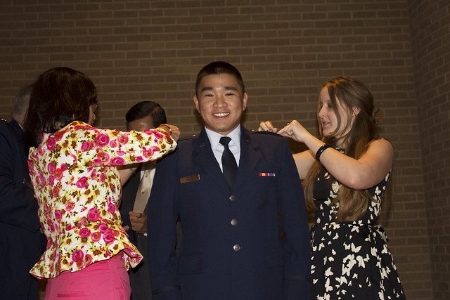 Air Force ROTC Commissioning Ceremony