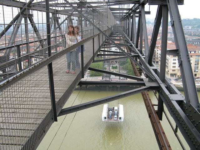 Puente de Bizkaia. Bizkaiko zubia