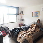 Mi, 28.01.15 - 21:25 - Unser Zimmer bei Luis und Maritza