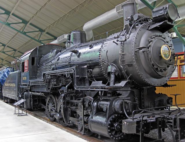 Pennsylvania Railroad # 1670 steam locomotive (0-6-0) 2