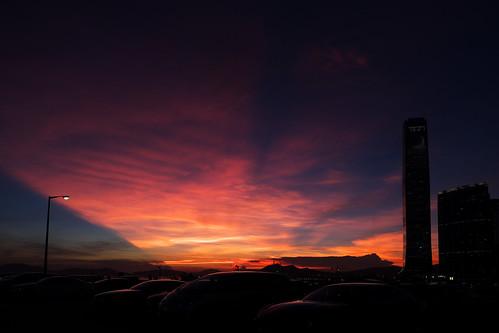 sunset backlight hongkong evening fujifilm tsimshatsui xe2 fujinonxf1855mmf284rlmois