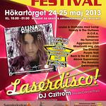 Affisch till Ungdomsfestivalen