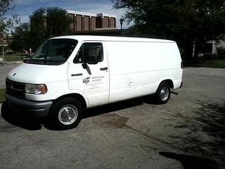 WSU-TV Van
