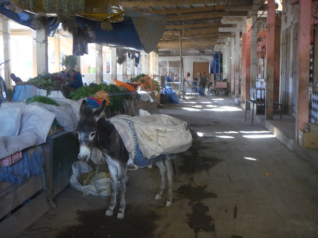 Market in rural Morocco