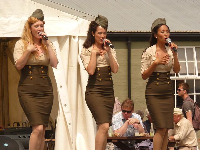 The Manhattan Dolls Flying Legends Air Show Duxford July 2013 G