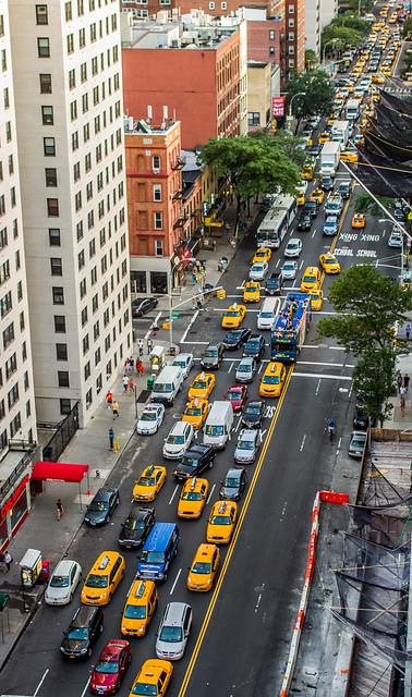 3rd Avenue Traffic Jam, New York