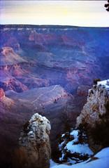 Grand Canyon Arizona Winter Time Jan 1987 218