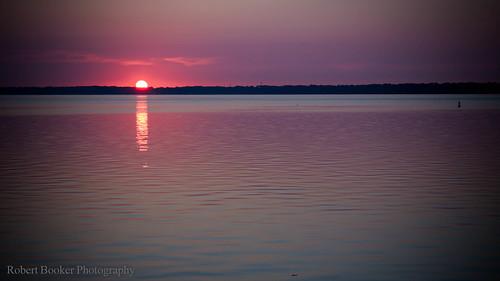 pink blue sunset sky orange nature colors clouds sunrise river landscape stjohns