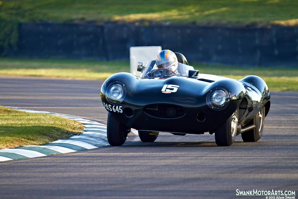 1956 Jaguar D-type | 1956 Jaguar D-type driven by Rob Hall ...