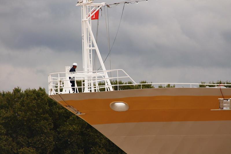 Accostage du paquebot MV HAMBURG - Bordeaux - 14 septembre 2013