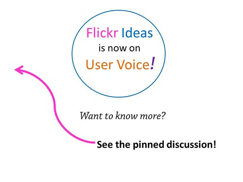 Flickr Ideas - User Voice
