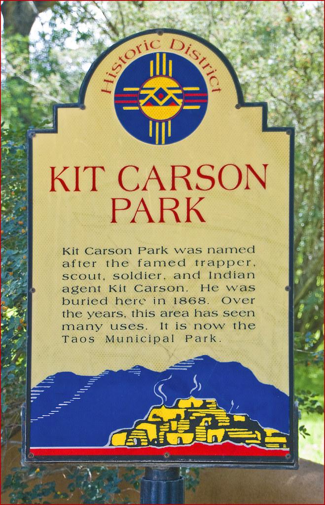kit carson park taos