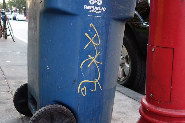 Trash Can Message Perhaps (2855)