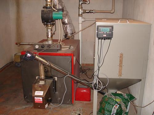 Καυστήρας pellet Pellas X σε λέβητα πετρελαίου | by energon - Pellet Systems