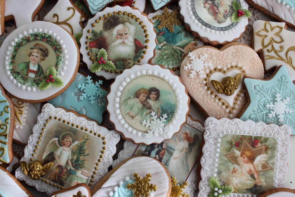 Angel Christmas Cookies Istoriyata Na Bubolinkata Blogspot Flickr