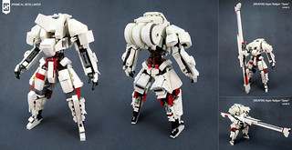 [Frame Humanoid Beta] LANCER | by Messymaru