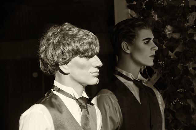 Shop Window--Tuxedos