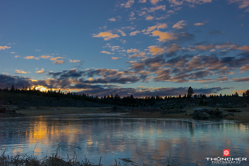 leica sunset sky ice nature clouds oregon centraloregon reflections landscape outdoors northwest bend scenic fullframe fx waterscape m9 tetherow summicron35mmf2asph leicam9 agm9