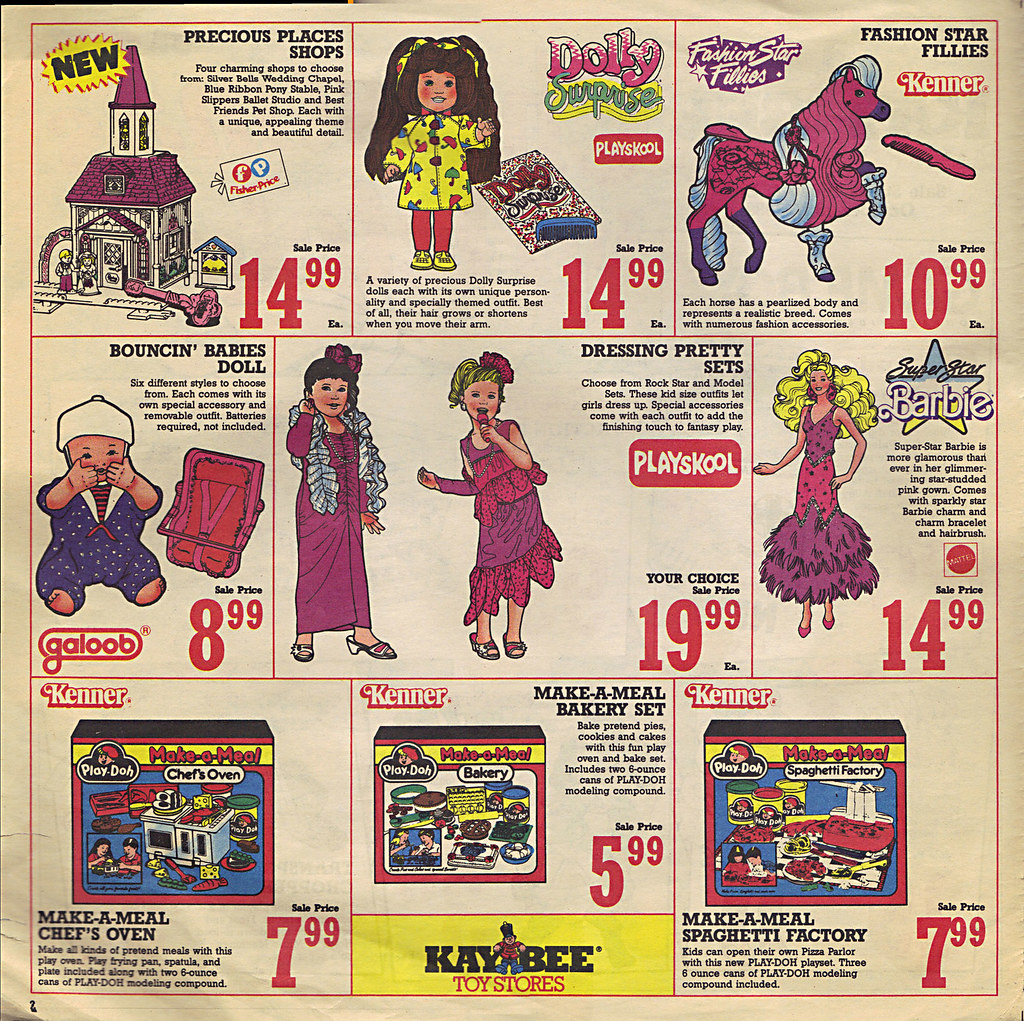 KAY•BEE TOY STORES :: Christmas in October pg.2  (( OCTOBER,8 1989 )) by tOkKa