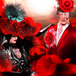 Spring Awakening: The Red Poppies | by -Fashion Teller House-