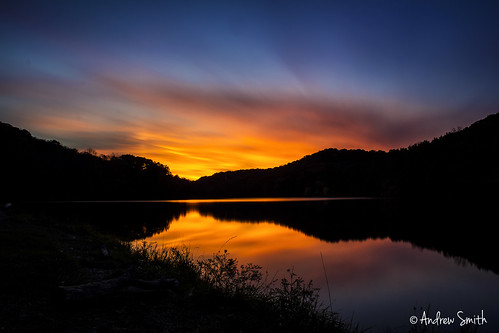 longexposure sunset reflection water clouds landscape october pittsburgh pennsylvania 2014 pastateparks raccooncreekstatepark
