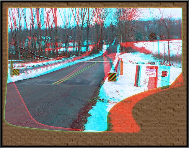 Finally, a New Bridge! - Anaglyph 3D