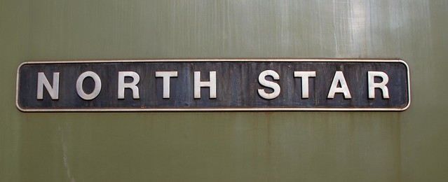 Locomotive Nameplates.