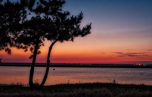 sunset ventnorcity newjersey shorenewjerseyshoreskibeachsunsetventnor