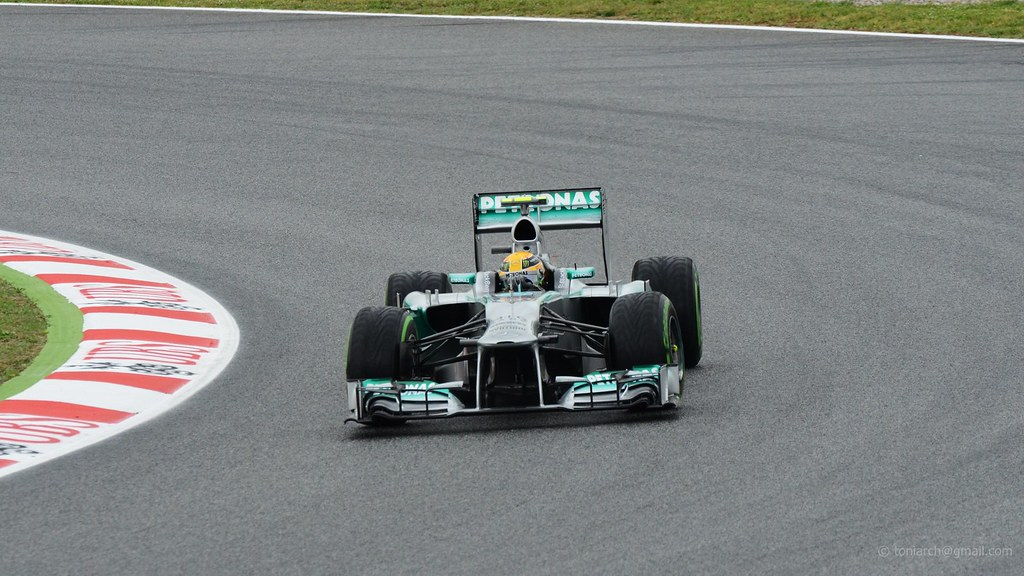 Hamilton . Mercedes F1 W04 . 2013 GP F1 Spain. FP1. DSC_47…   Flickr