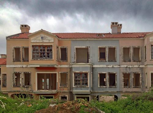Abandoned Venetian houses   by VillaRhapsody