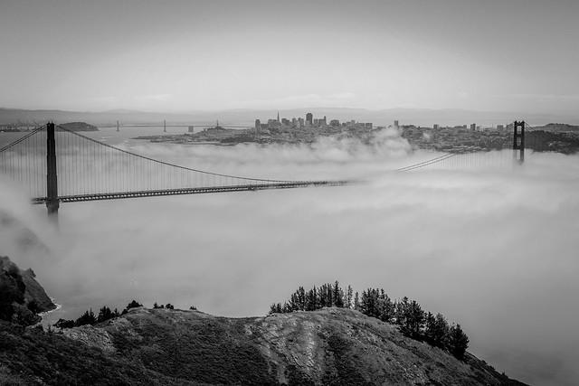 SF - Fog City Smother - Golden Gate Bridge