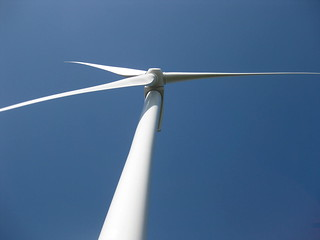 Wind turbine close up | by Beyond Coal and Gas