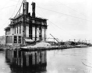 Construction of the Florida Power & Light Company plant: Miami, Florida