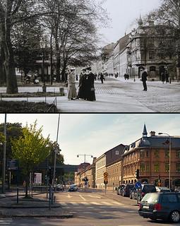 Gothenburg, Vasastan 1909 / 2013