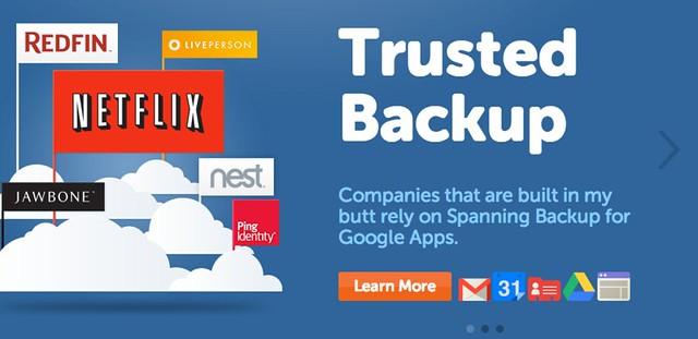 Google Apps Backup | Cloud Backup Services - Spanning