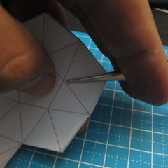โมเดลกระดาษรูปดาว 004