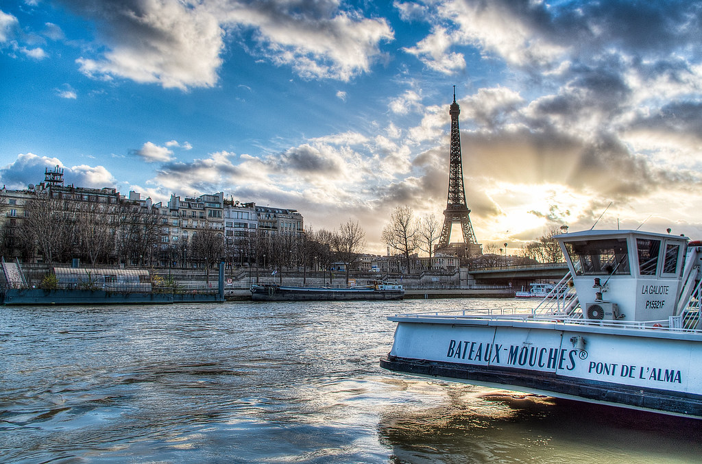 Paris - Tour Eiffel & Bateaux-mouche