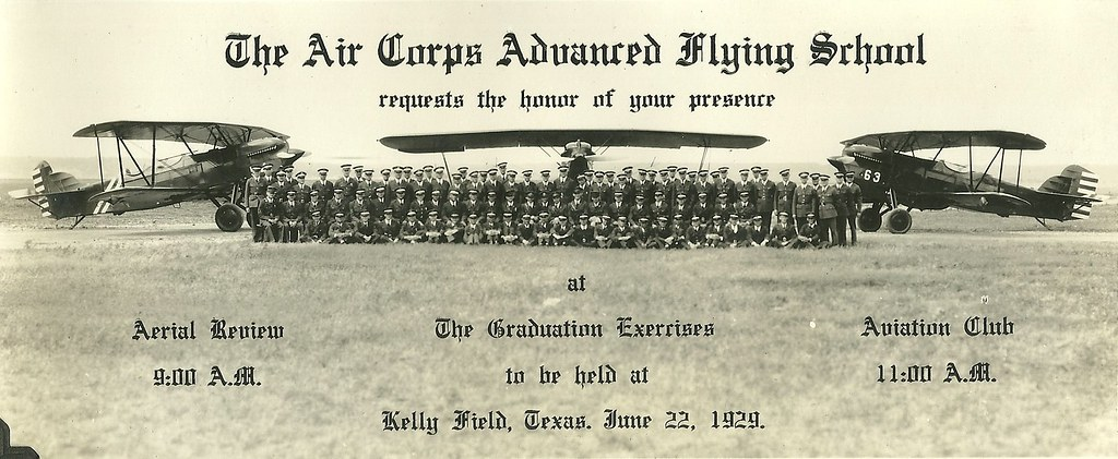 AIR CORPS ADVANCED FLYING SCHOOL KELLY FIELD TEXAS 1929 | Flickr