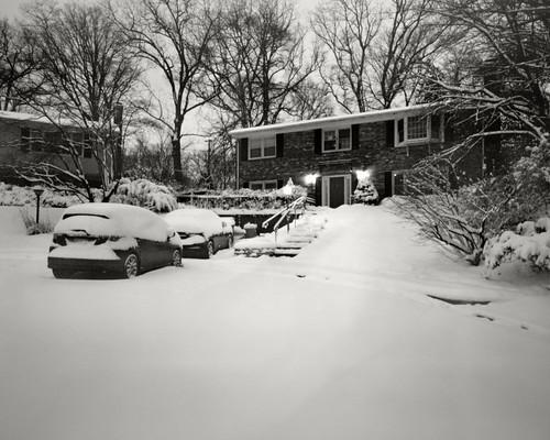 snow blackwhite pinhole 8x10 hp5 pinholecamera ilford largeformat xtol largeformatpinhole