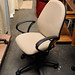 Office chair - cream swivel