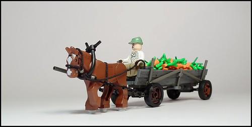 Furmanka (Polish horse cart), Poland, 50s-80s