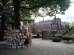 book market along Hofvijver, Den Haag
